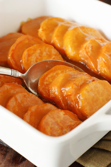 Glazed Sweet Potato Coins Recipe Image