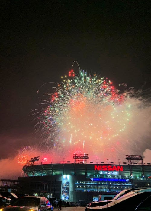 monthly traditions |   July - go see fireworks in a big city