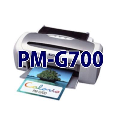 Epson Colorio PM-G700ドライバーダウンロード