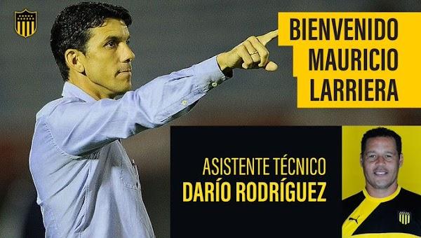 Oficial: Peñarol, Mauricio Larriera nuevo entrenador