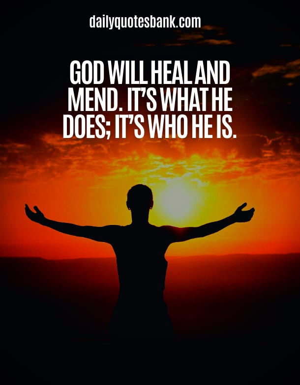 Deep Quotes About God Healing Power