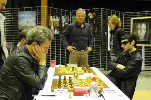 Les rencontres du top 12 d'échecs à Chartres - Photo © FFE