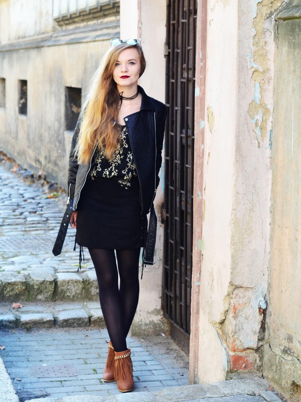 Street style legwear looks diane-fashion.blogspot.co.uk