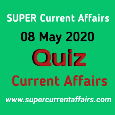 8 May 2020 Current Affairs Quiz in Hindi