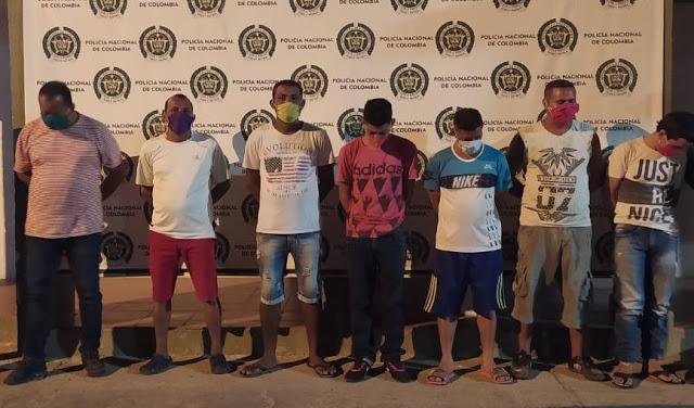 CuarenteRumba en Maicao: Siete capturados