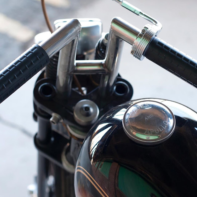 Harley Davidson Shovelhead By The Cut Rate Hell Kustom