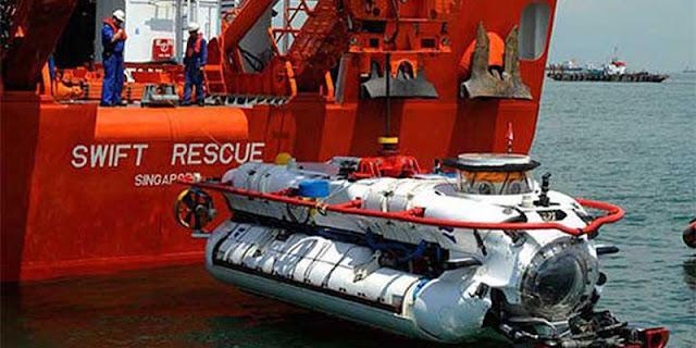 Hydrophone Dan Torpedo KRI Nanggala-402 Ditemukan ROV Singapura