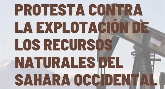 Convocan una manifestación frente a la oficina de Siemens Gamesa en Vizcaya por saquear los recursos del Sáhara Occidental.