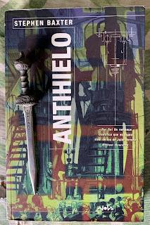 Portada del libro Antihielo, de Stephen Baxter