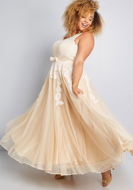 Memorable Magic Maxi Dress in Tea Plus Size
