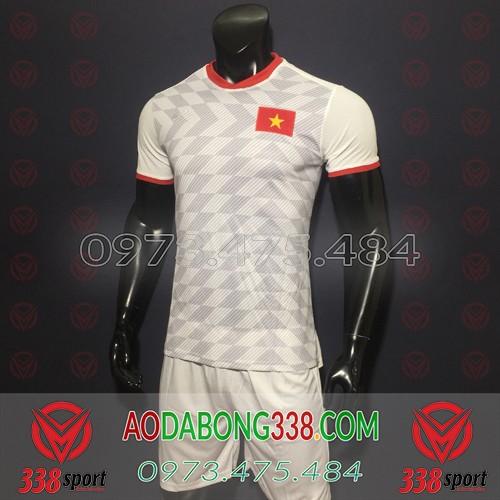 Áo Đội Tuyển Việt Nam Trắng 2019 2020 Sân Khách