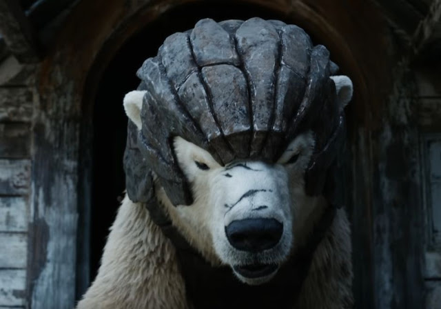 hbo and bbc his dark materials bear