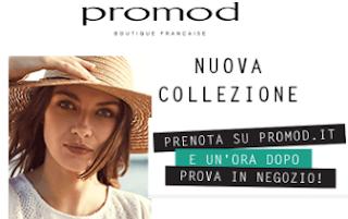 Logo Con Promod: prenoti online, provi in negozio e poi decidi! Scopri gli sconti fino al 50%