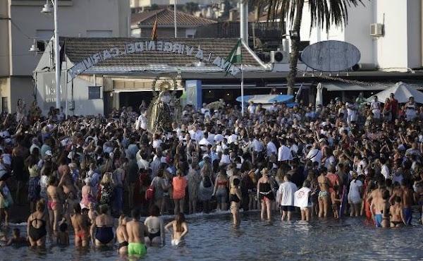 The Brotherhood of Carmen de Pedregalejo suspends its procession on July 16