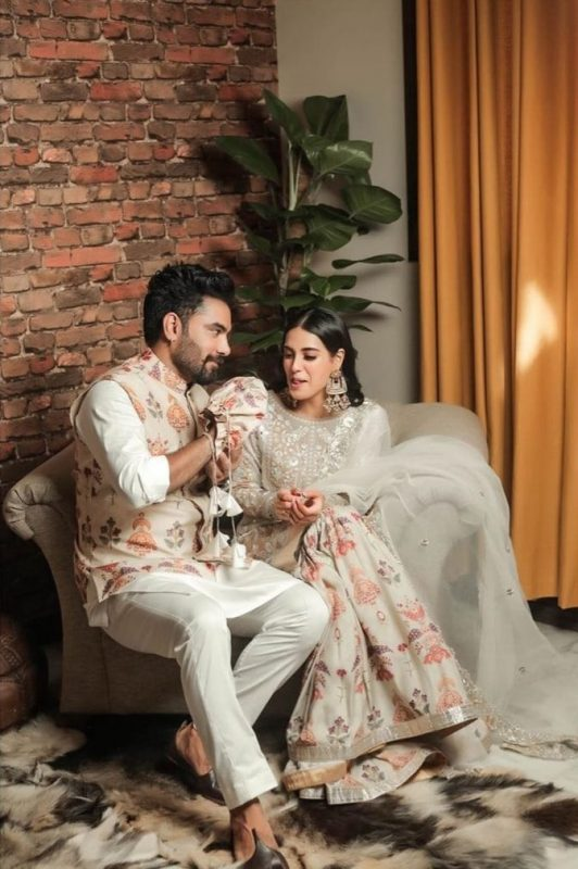 New Beautiful Clicks of Iqra Aziz and Yasir Hussain