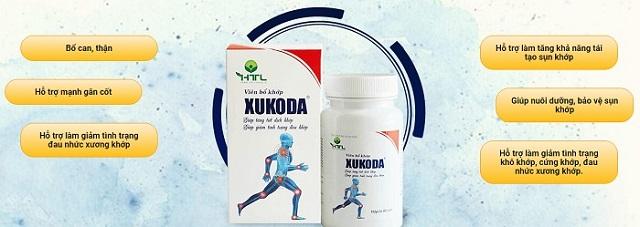 Công dụng của viên bổ xương khớp Xukoda