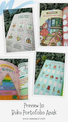 Isi Buku Portofolio Anak