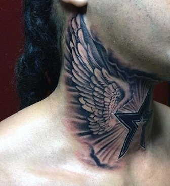eagle back tattoo