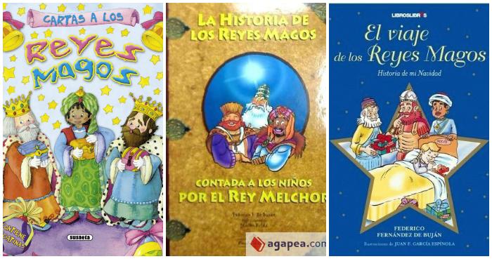 Libros Infantiles Reyes Magos