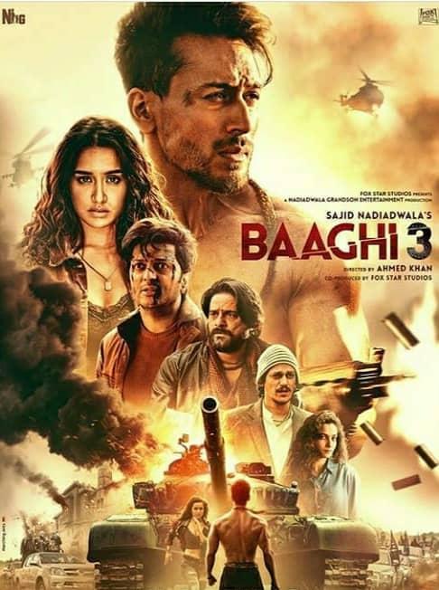 Baaghi 3 (2020) Full Movie Download 480p Khatrimaza Download