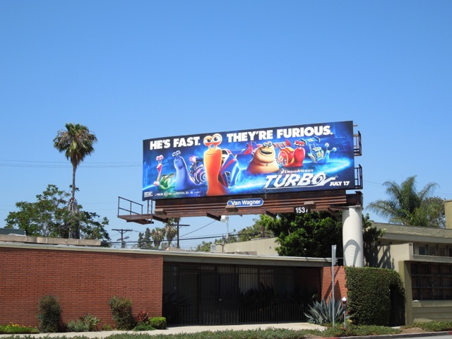Turbo dreamworks billboard
