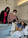 Ana Flores operada con éxito de su lesión de rodilla