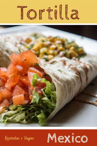 Faça a tortilla mexicana #emcasa