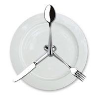 Üç Öğün Yemek, Çatal Kaşık Bıçak Tabak Dizilimi