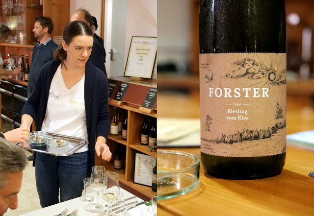 Riesling vom Kies des Weingutes Georg Forster.