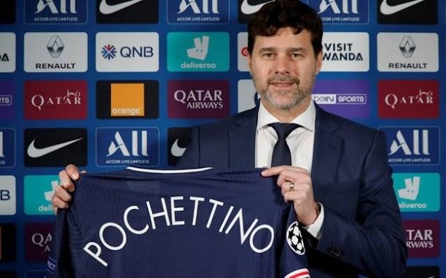 PSG anuncia Mauricio Pochettino como novo técnico