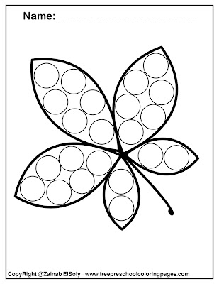 free preschool coloring pages fall autumn leaves coloring pages fall autumn images fall autumn activities fall autumn activities for toddlers kindergarten fall autumn leaf activities do a dot markers do a dot art