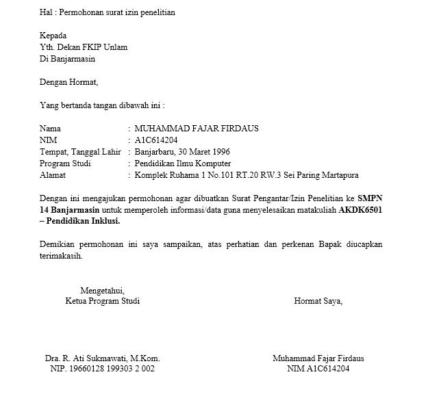 Format Surat Izin Tempat Usaha Altin Northeastfitness Co