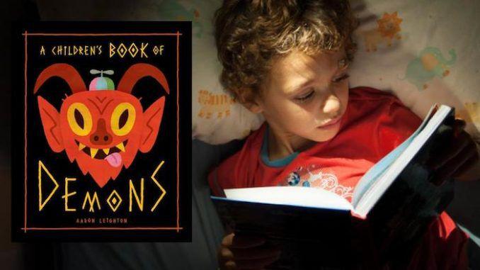 Livro infantil ensina crianças a invocar demônios