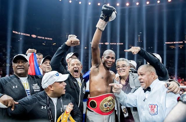 Yunier Dorticos IBF Cruiserweight World title