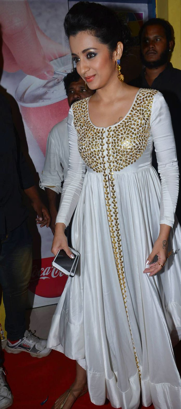 Trisha Latest Beautiful Stills In White Dress