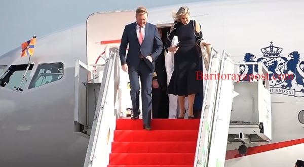 Raja Belanda Willem-Alexander dan Ratu Maxima Zorreguieta Cerruti Tiba di Indonesia