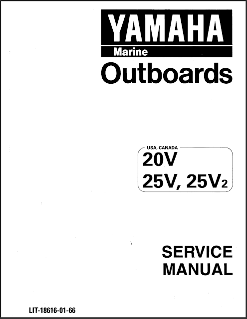 Yamaha Outboard Service Manual