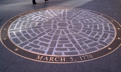 Site du massacre de Boston