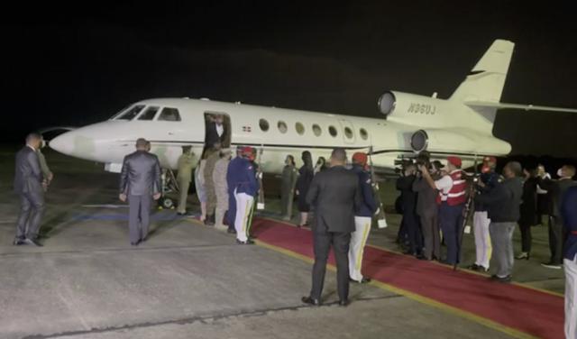 Presidente Luis Abinader ya está en República Dominicana