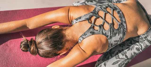 Lower back pain - physical fitness yoga