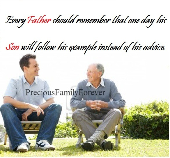 Precious Family: Every father should remember ......