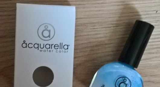 beauty expression aquarella natural non-toxic nail polish brand new spring colours review