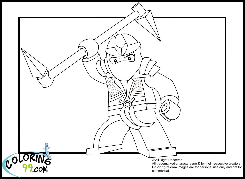 lego ninjago lloyd the green coloring pages team