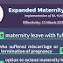 105 Expanded Maternity Law IRR and Other Cases