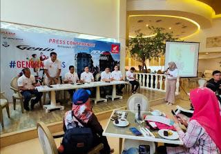 genio dan honda adv150 konferensi pers