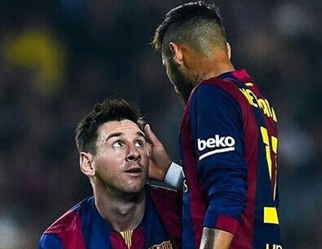 Lionel Messi Getol Telepon Neymar- IGlegandarymessi
