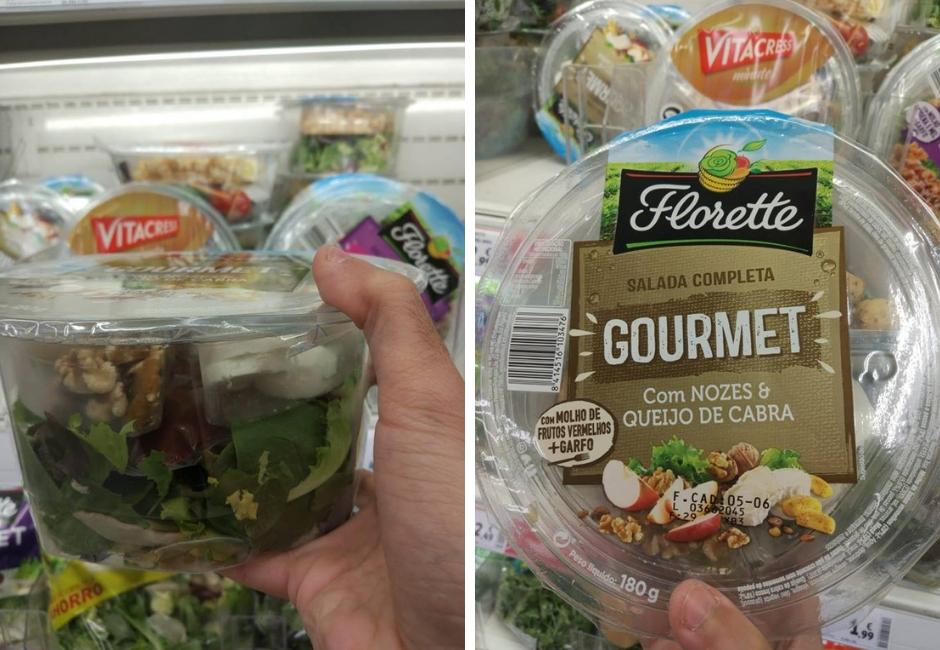 florette + salada gourmet + refeição rápida + supermercado + blogue de casal+ português + blogue ela e ele + ele e ela + pedro e telma
