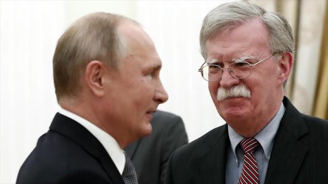 Bolton: Putin duda de la capacidad de Israel para atacar a Irán