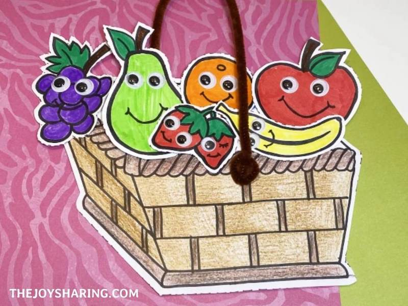 healthy food project for kids