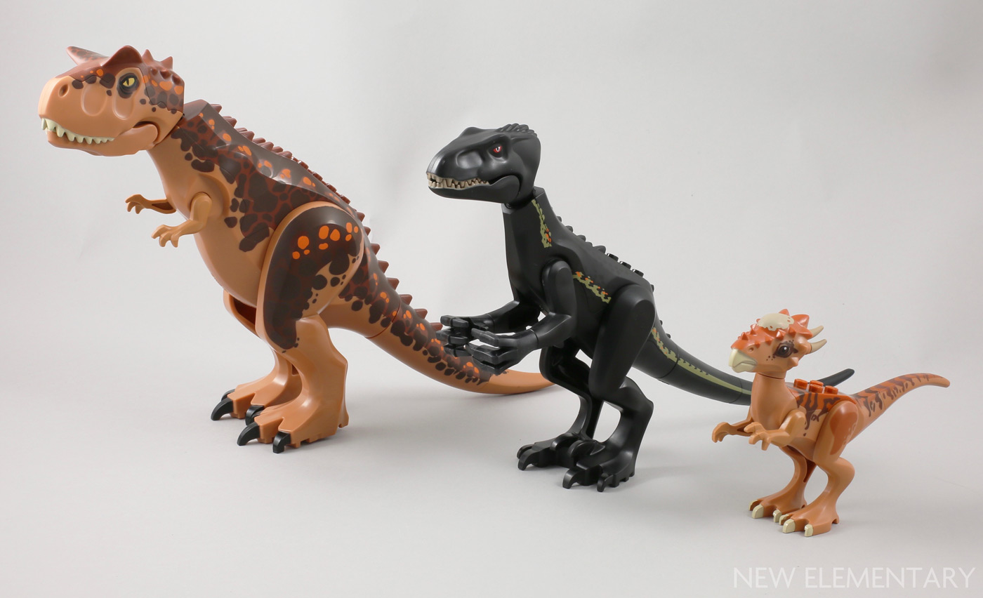LEGO Lot of 2 Black Animal Dinosaur Tails